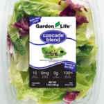 Salad label for clam shell