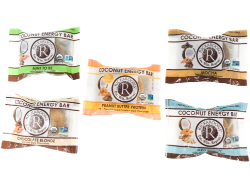 Flexible Packaging - coconut energy bar flavors