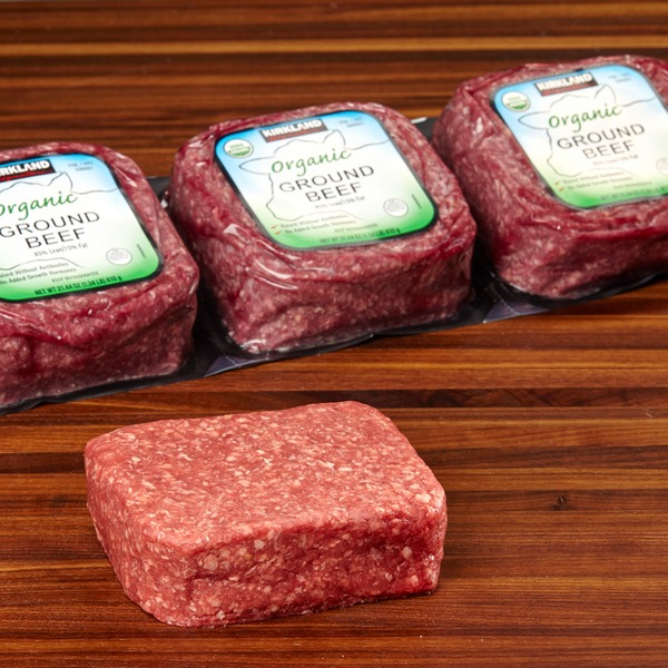Flexographic - Kirkland organic ground beef